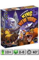 King of New York + promokaart October Monster Idol