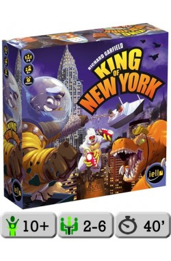 King of New York + promokaart October Monster Idol