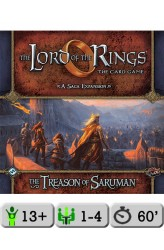 The Lord of the Rings: The Card Game – The Treason of Saruman (Saga Expansion 5)