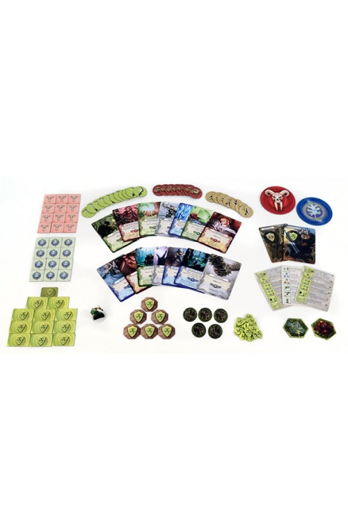 Mage Knight Deck Building Game