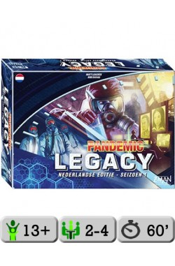 Pandemic Legacy (Blue) [NL]