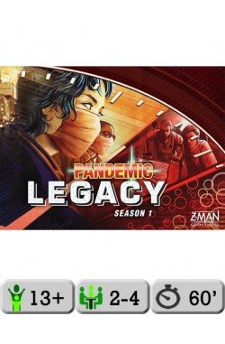 Pandemic Legacy (Red) [NL]