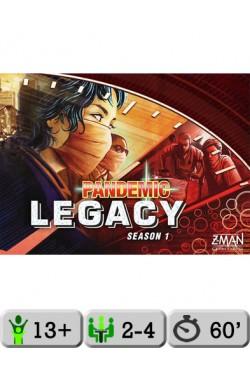 Pandemic Legacy (Red) [EN]