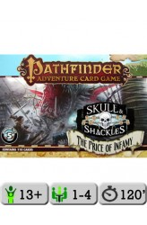 Pathfinder Adventure Card Game: Skull and Shackles – The Price of Infamy Adventure Deck 5