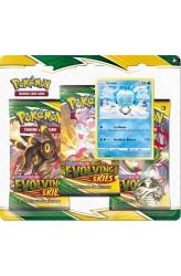 Pokémon - Sword & Shield Evolving Skies 3-booster Blister Eiscue