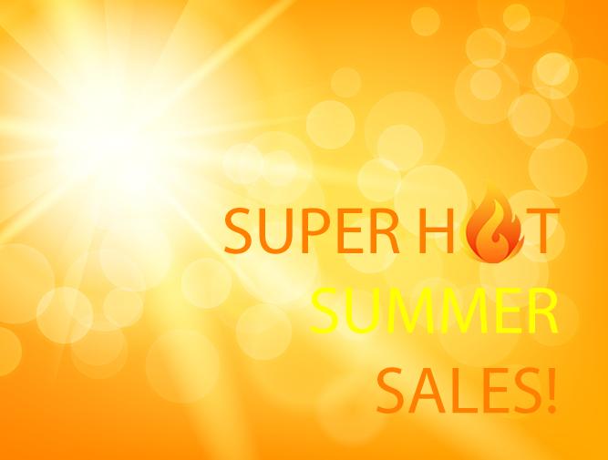 Super Summer Sales!